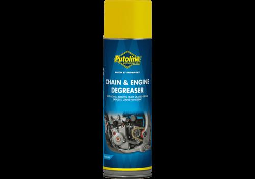 Putoline Chain & Engine Degreaser - Ontvetter, 500 ml