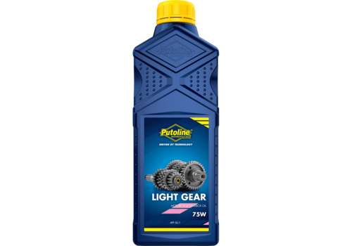 Putoline Light Gear 75W - Transmissieolie, 1 lt