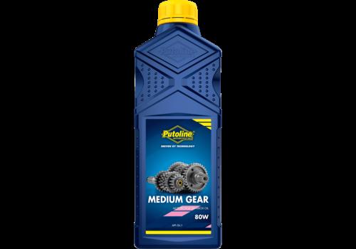 Putoline Medium Gear 80W - Transmissieolie, 1 lt