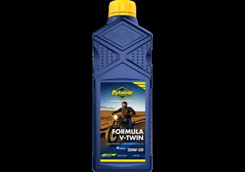 Putoline Formula V-Twin 20W-50 - Motorfietsolie, 1 lt