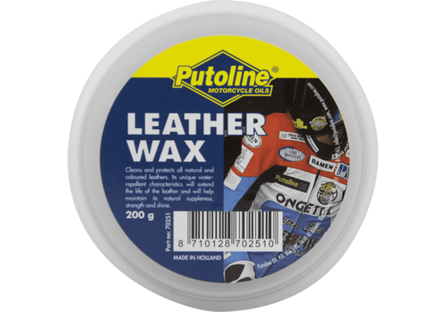 Putoline Leather Wax - Ledervet, 200 gr
