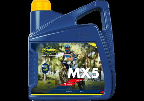 Putoline MX 5 - Motorfietsolie, 4 lt