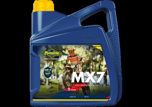 Putoline MX 7 - Motorfietsolie, 4 lt