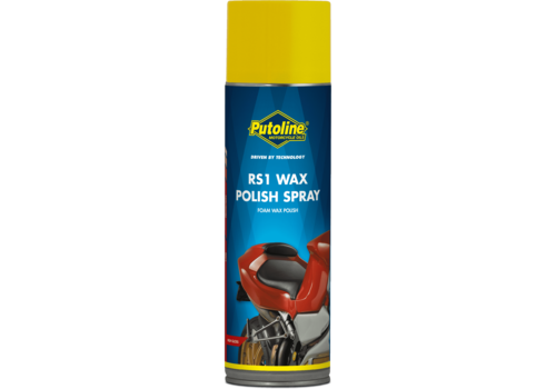 Putoline RS1 Wax Polish Spray - Poetsmiddel, 500 ml