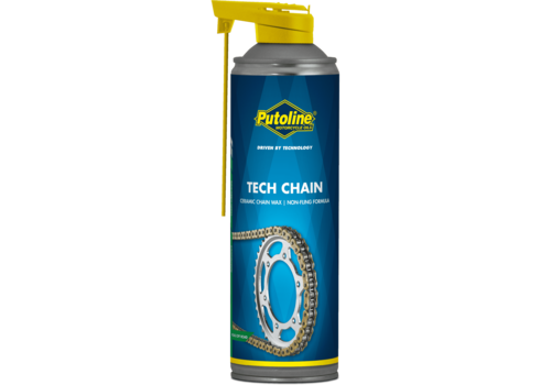Putoline Tech Chain - Kettingsmeermiddel, 500 ml