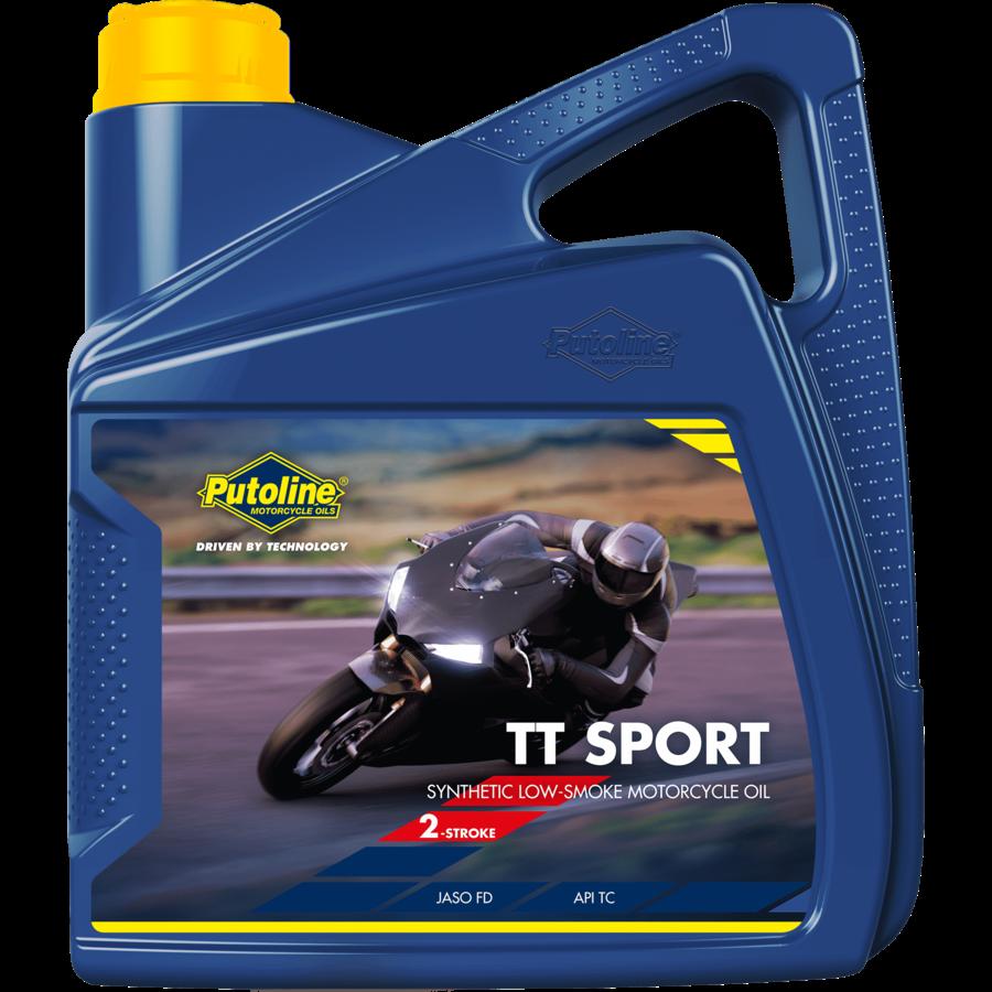TT Sport - 2-Takt motorfietsolie, 4 x 4 lt-2