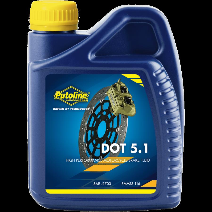 DOT 5.1 Brake Fluid - Remvloeistof, 500 ml-1