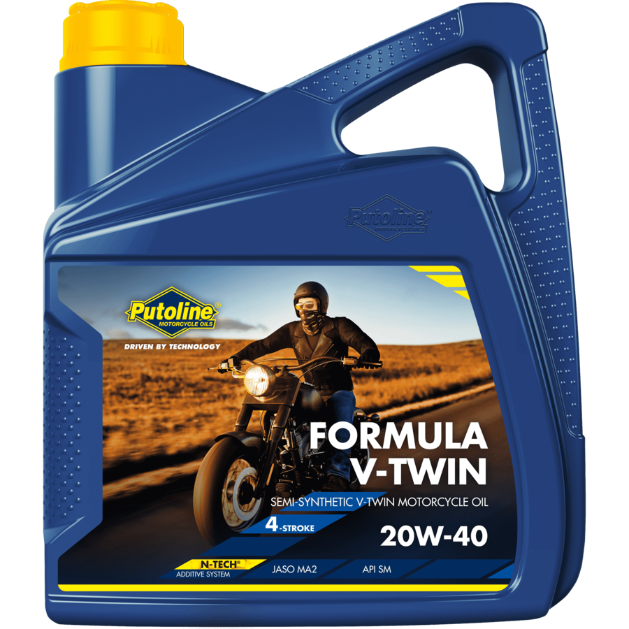 Formula V-Twin 20W-40 - Motorfietsolie, 4 x 4 lt-2