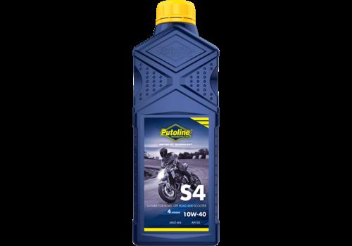 Putoline S4 10W-40 - 4-Takt motorolie, 1 lt