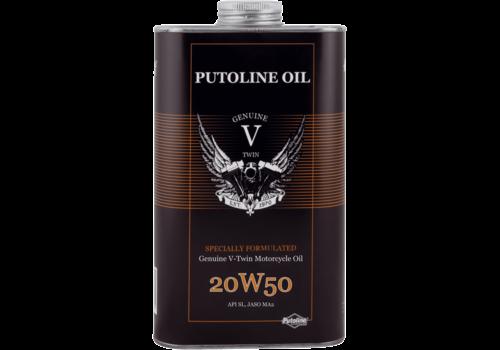 Putoline Genuine V-Twin 20W-50 - Motorfietsolie, 1 lt