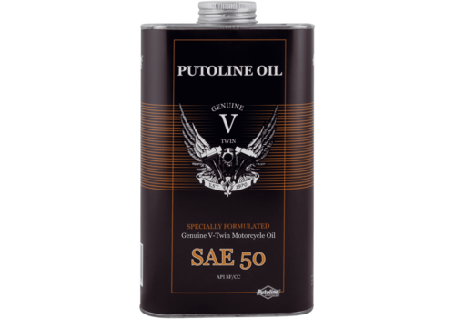 Putoline Genuine V-Twin SAE 50 - Motorfietsolie, 1 lt