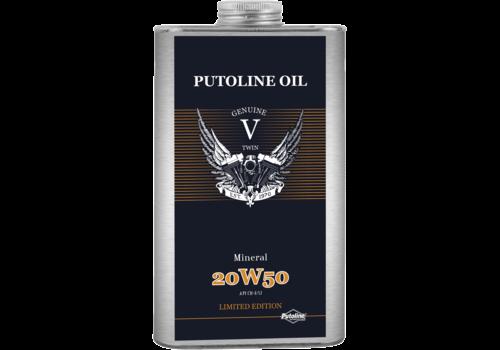 Putoline Genuine V-Twin Mineral 20W-50 - Motorfietsolie, 1 lt