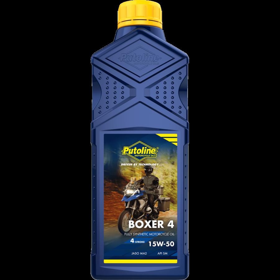 Boxer 4 15W-50 - Motorolie, 12 x 1 lt-2