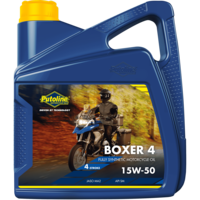 Boxer 4 15W-50 - Motorolie, 4 lt