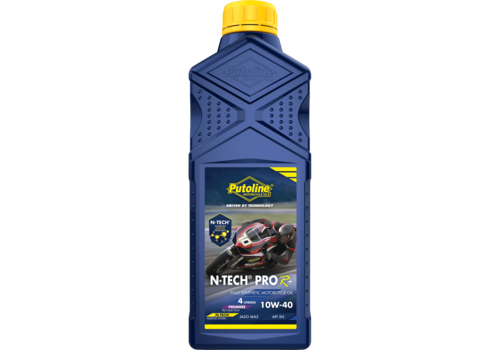 Putoline N-Tech® Pro R+ 10W-40 - Motorfietsolie, 1 lt