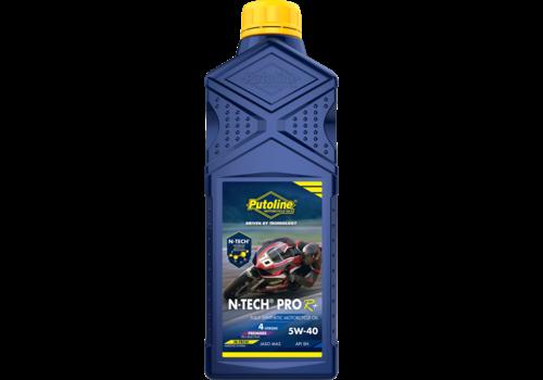 Putoline N-Tech® Pro R+ 5W-40 - Motorfietsolie, 1 lt