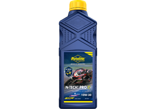 Putoline N-Tech® Pro R+ 10W-30 - Motorfietsolie, 1 lt