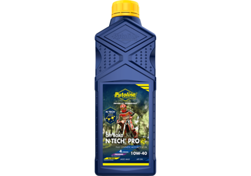 Putoline N-Tech® Pro R+ Off Road 10W-40 - Motorfietsolie, 1 lt