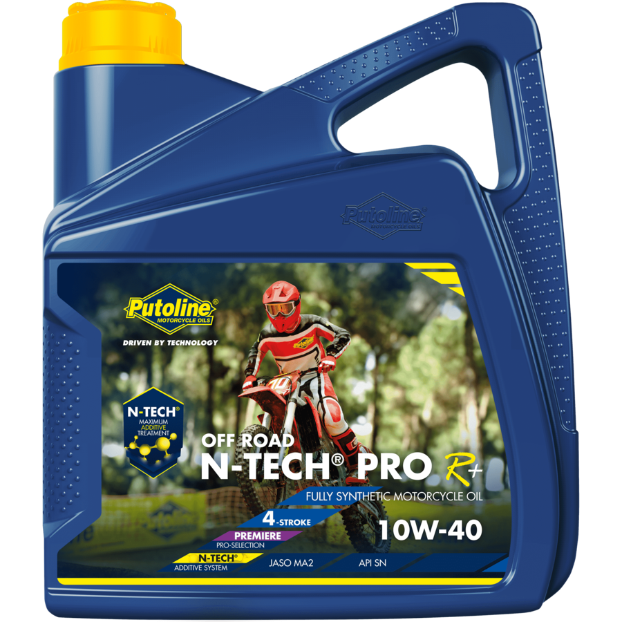 N-Tech® Pro R+ Off Road 10W-40 - Motorfietsolie, 4 x 4 lt-2