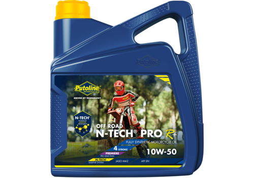 Putoline N-Tech® Pro R+ Off Road 10W-50 - Motorfietsolie, 4 lt