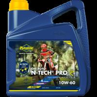 N-Tech® Pro R+ Off Road 10W-60 - Motorfietsolie, 4 lt