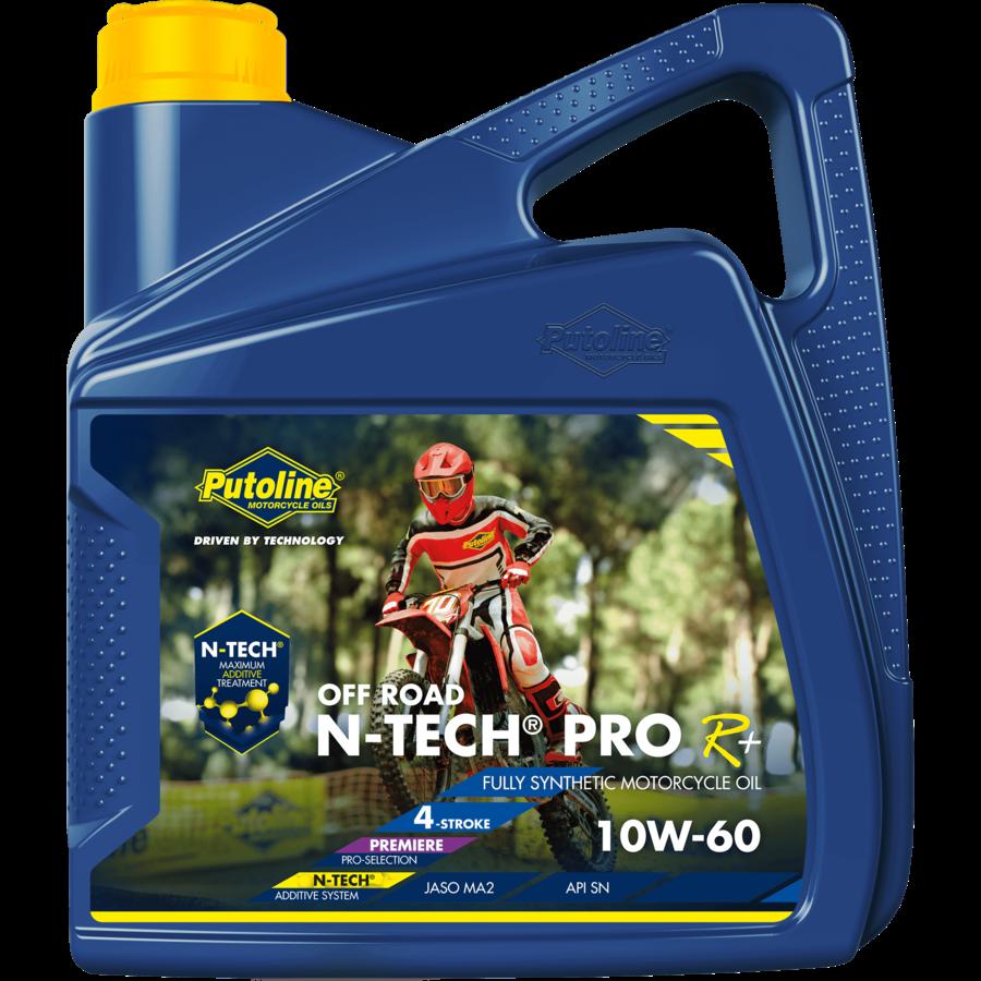 N-Tech® Pro R+ Off Road 10W-60 - Motorfietsolie, 4 lt-1