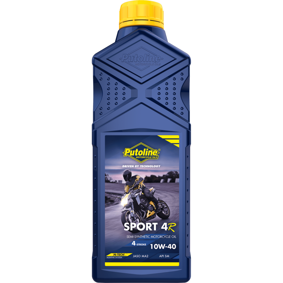 Sport 4R 10W-40 - 4-Takt motorfietsolie, 1 lt-1