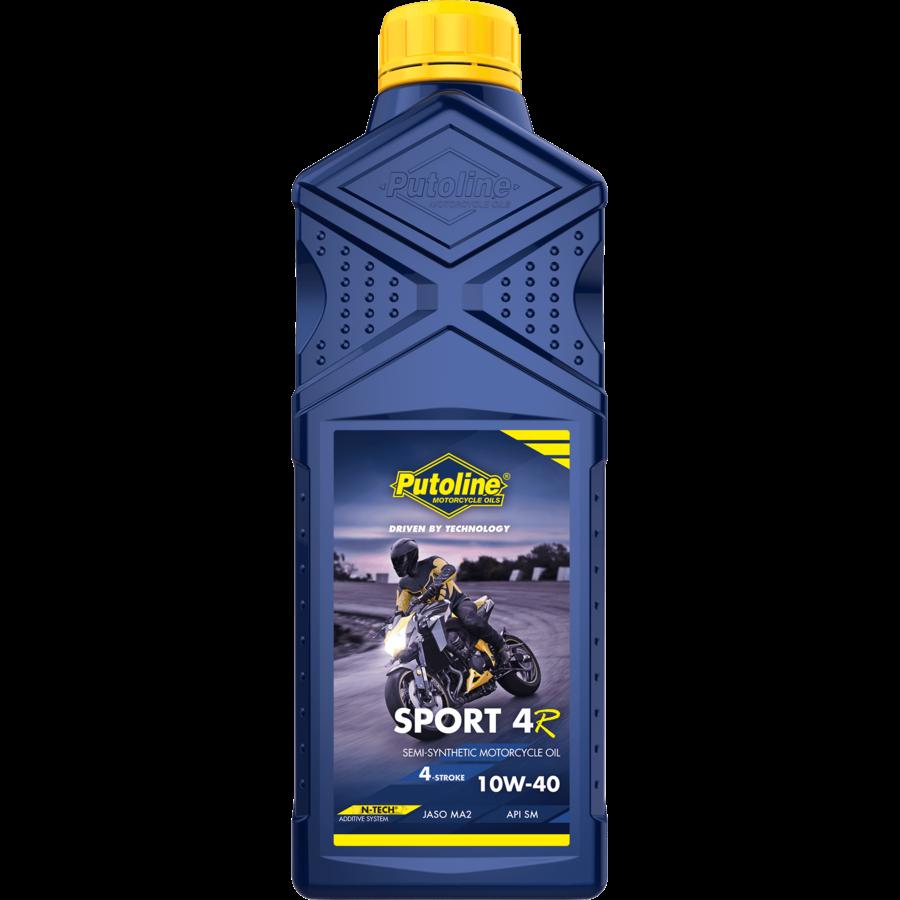 Sport 4R 10W-40 - 4-Takt motorfietsolie, 12 x 1 lt-2