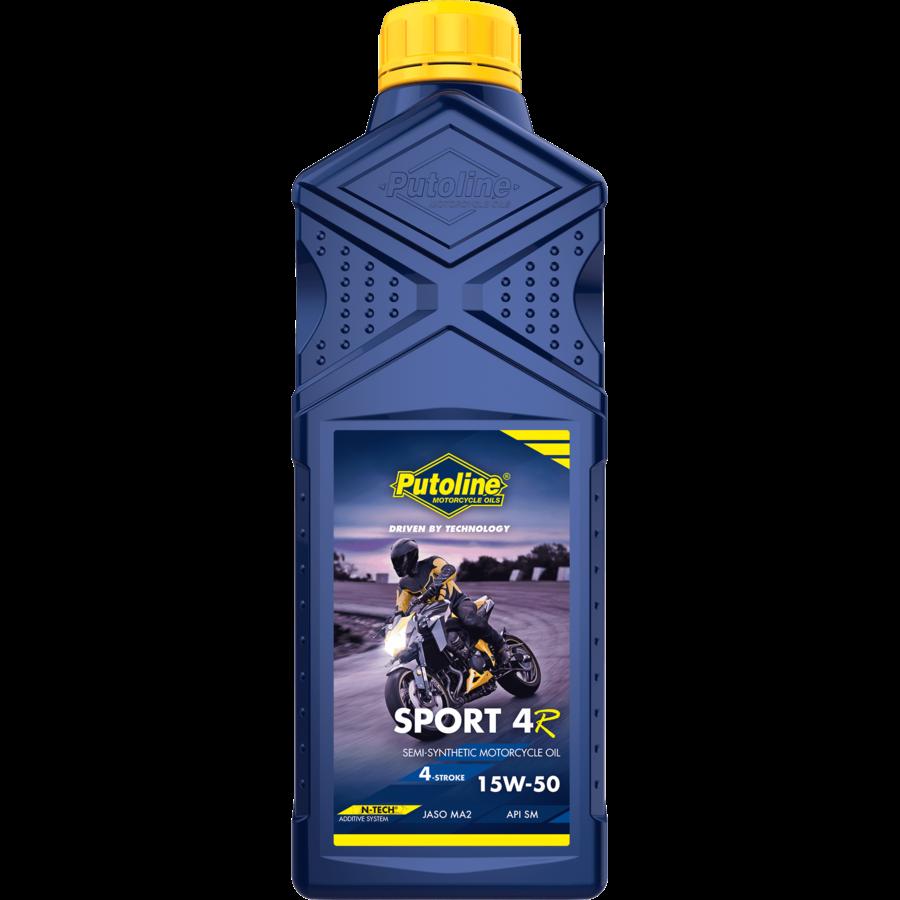 Sport 4R 15W-50 - 4-Takt motorfietsolie, 1 lt-1
