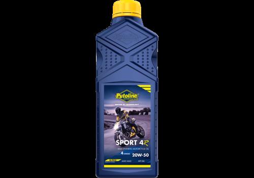 Putoline Sport 4R 20W-50 - 4-Takt motorfietsolie, 1 lt