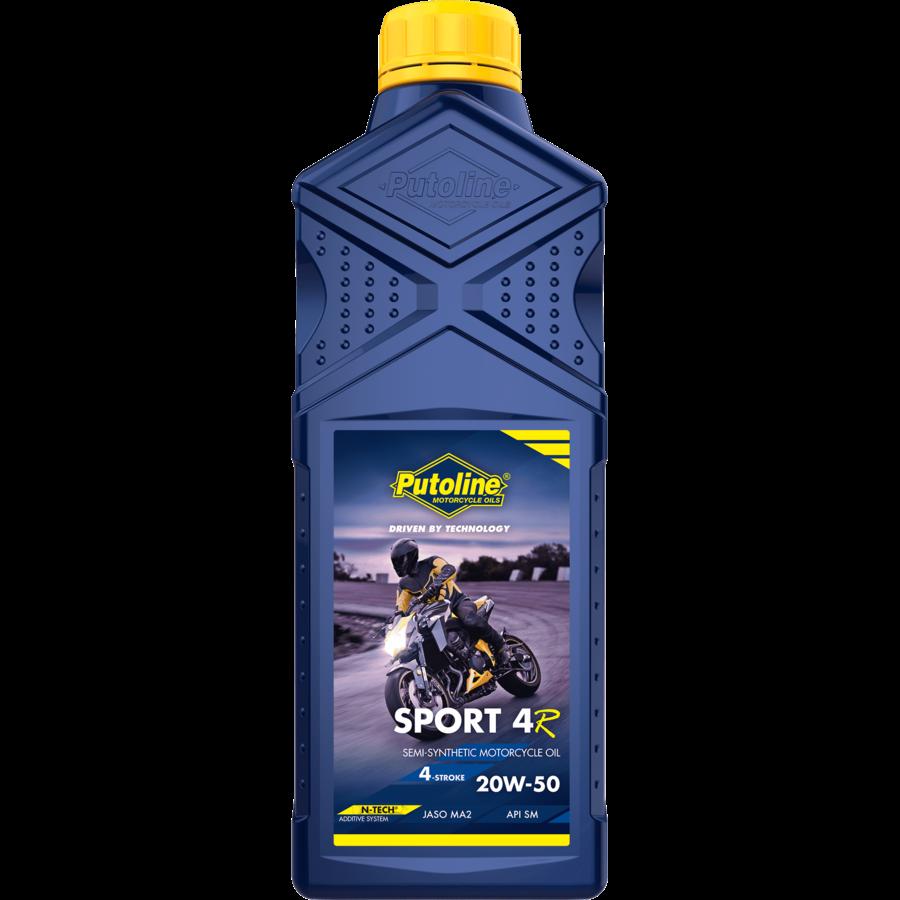 Sport 4R 20W-50 - 4-Takt motorfietsolie, 1 lt-1