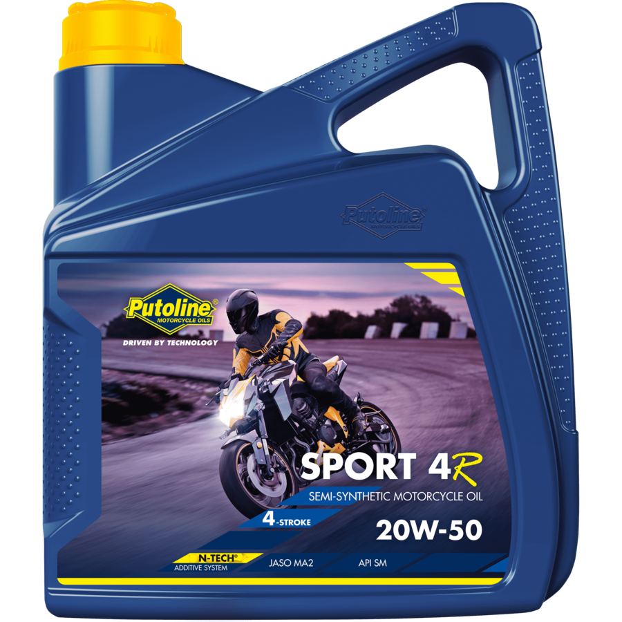 Sport 4R 20W-50 - 4-Takt motorfietsolie, 4 x 4 lt-2