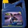 Putoline Sport 4R 20W-50 - 4-Takt motorfietsolie, 4 lt