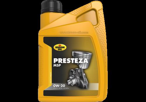 Kroon Oil Presteza MSP 0W-20 - Motorolie, 1 lt