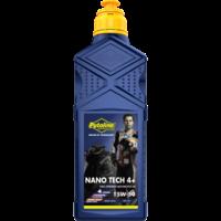 Nano Tech 4+ 15W-50 - Motorfietsolie, 1 lt (OUTLET)