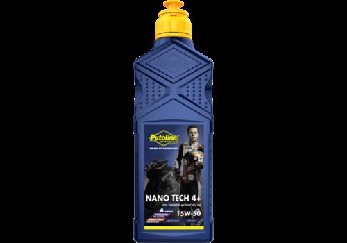 Putoline Nano Tech 4+ 15W-50 - Motorfietsolie, 1 lt (OUTLET)
