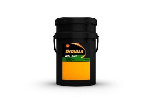 Shell Rimula R6 LME 5W-30 - Heavy Duty Engine Oil, 20 lt