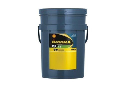 Shell Rimula R5 LE 10W-40 - Heavy Duty Engine Oil, 20 lt