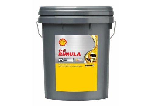 Shell Rimula R6 M 10W-40 - Heavy Duty Engine Oil, 20 lt