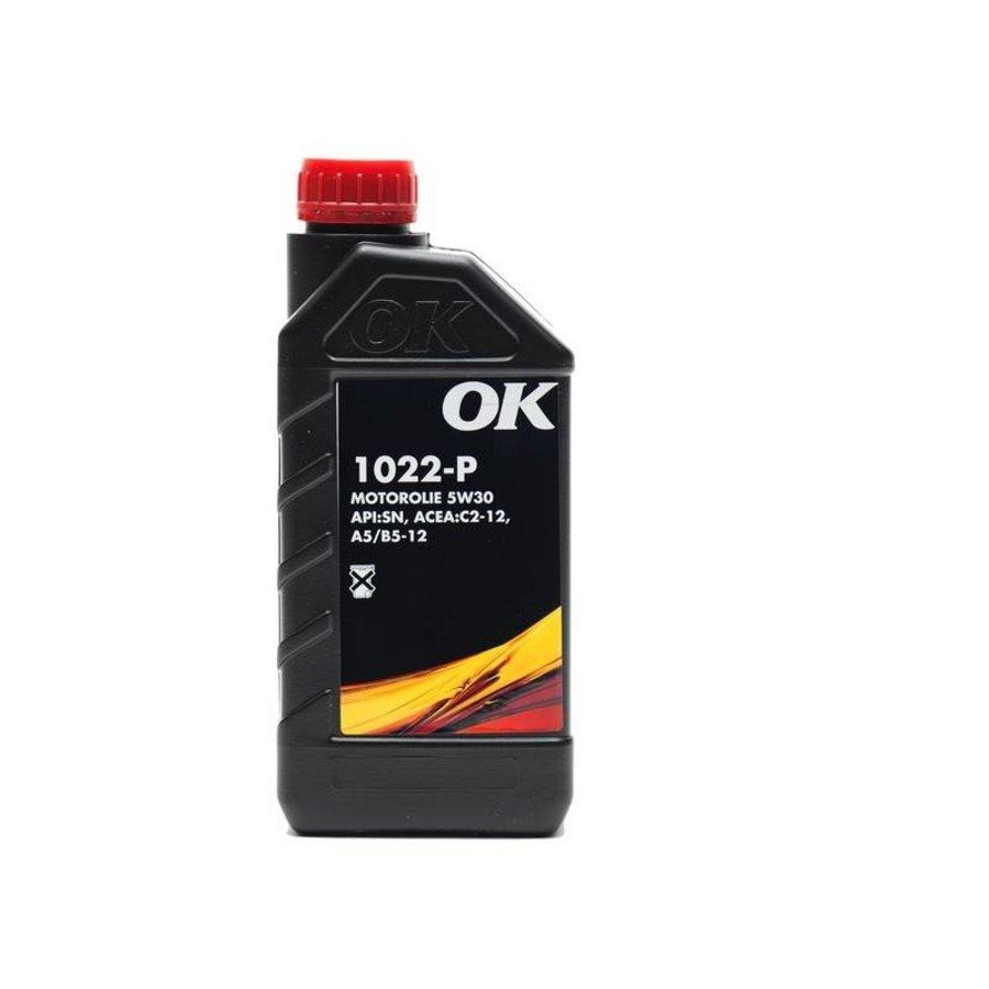 1022-P 5W-30 - Motorolie, 12 x 1 lt-2