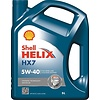 Helix HX7 5W-40 - Motorolie, 5 lt