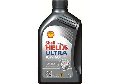 Shell Helix Ultra Racing 10W-60 - Motorolie, 1 lt