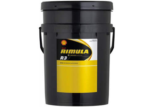 Shell Rimula R3 10W (CF) - Heavy Duty Engine Olie, 20 lt