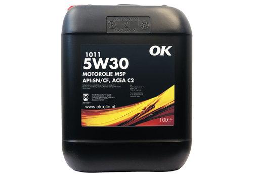 OK 1011 MSP 5W-30 - Motorolie, 10 lt