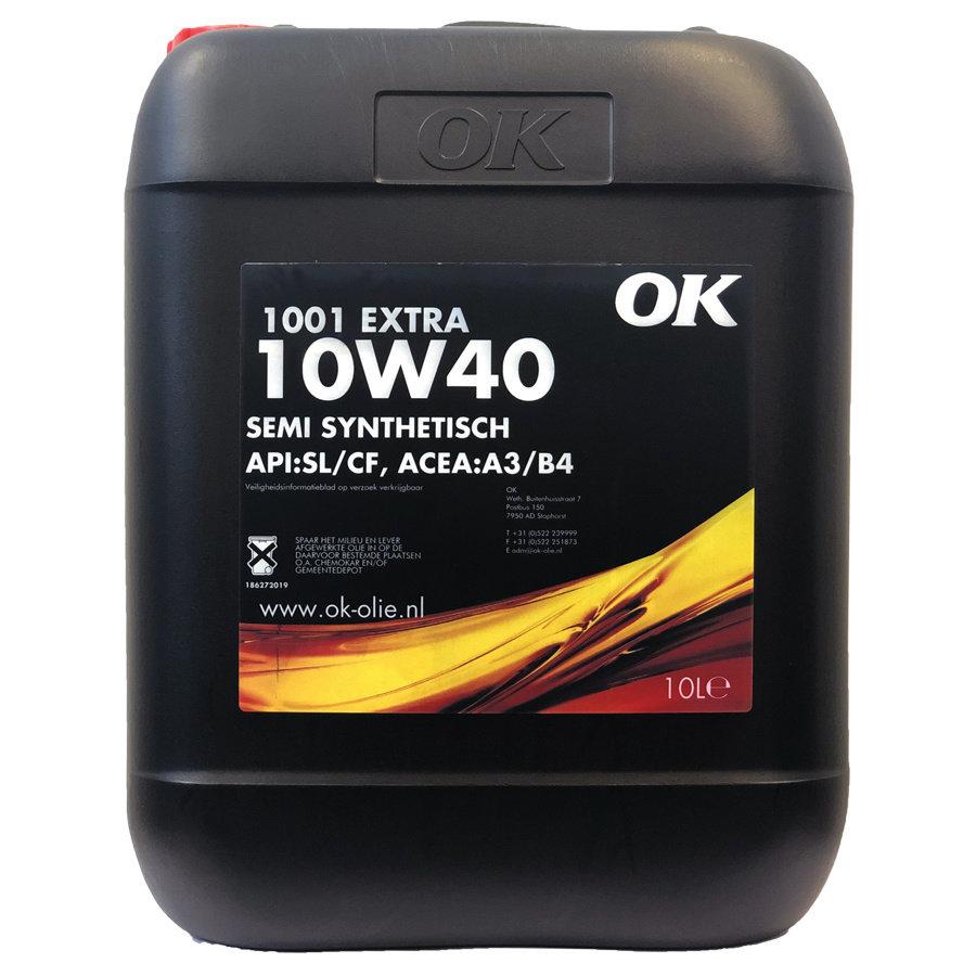 1001 Extra 10W-40 - Motorolie, 10 lt-1