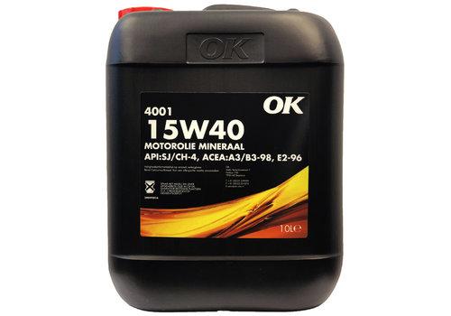 OK 4001 15W-40 - Heavy Duty, 10 lt