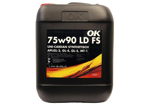 OK Uni Cardan LD-LS 75W-90 - Versnellingsbakolie, 10 lt