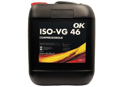 OK Compressor olie 46, 10 lt