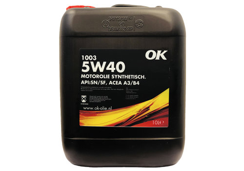 OK 1003 5W-40 - Motorolie, 10 lt