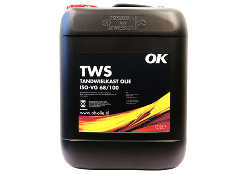 OK TWS ISO-VG 68/100 - Tandwielolie, 10 lt